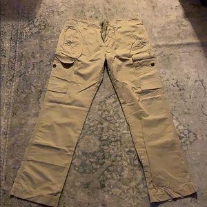 Lacoste Khaki Cargo Pants